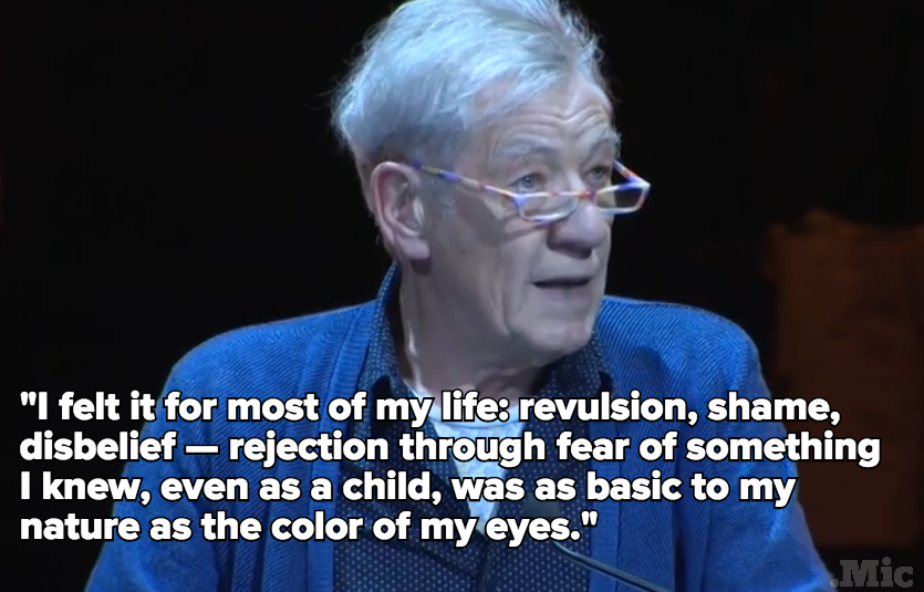 Ian McKellen Reading This Coming Out Letter Is Going to Give You All the Feels