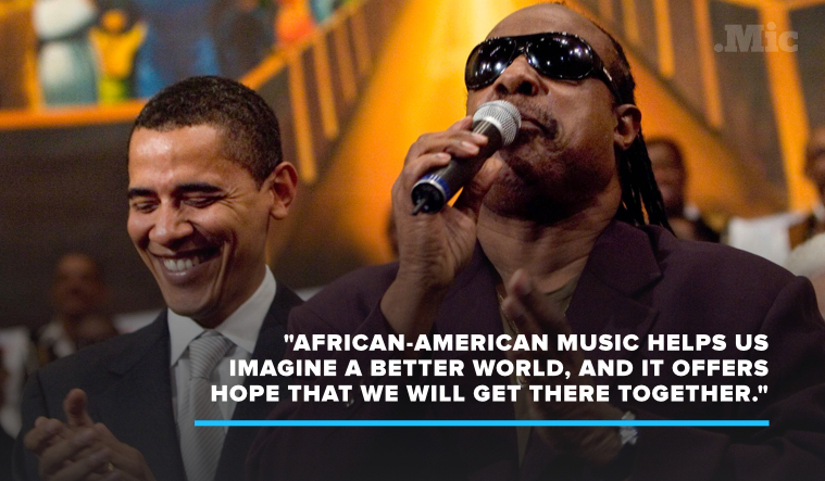 "President Obama Declares June 2016 as ""African-American Music Appreciation Month"""