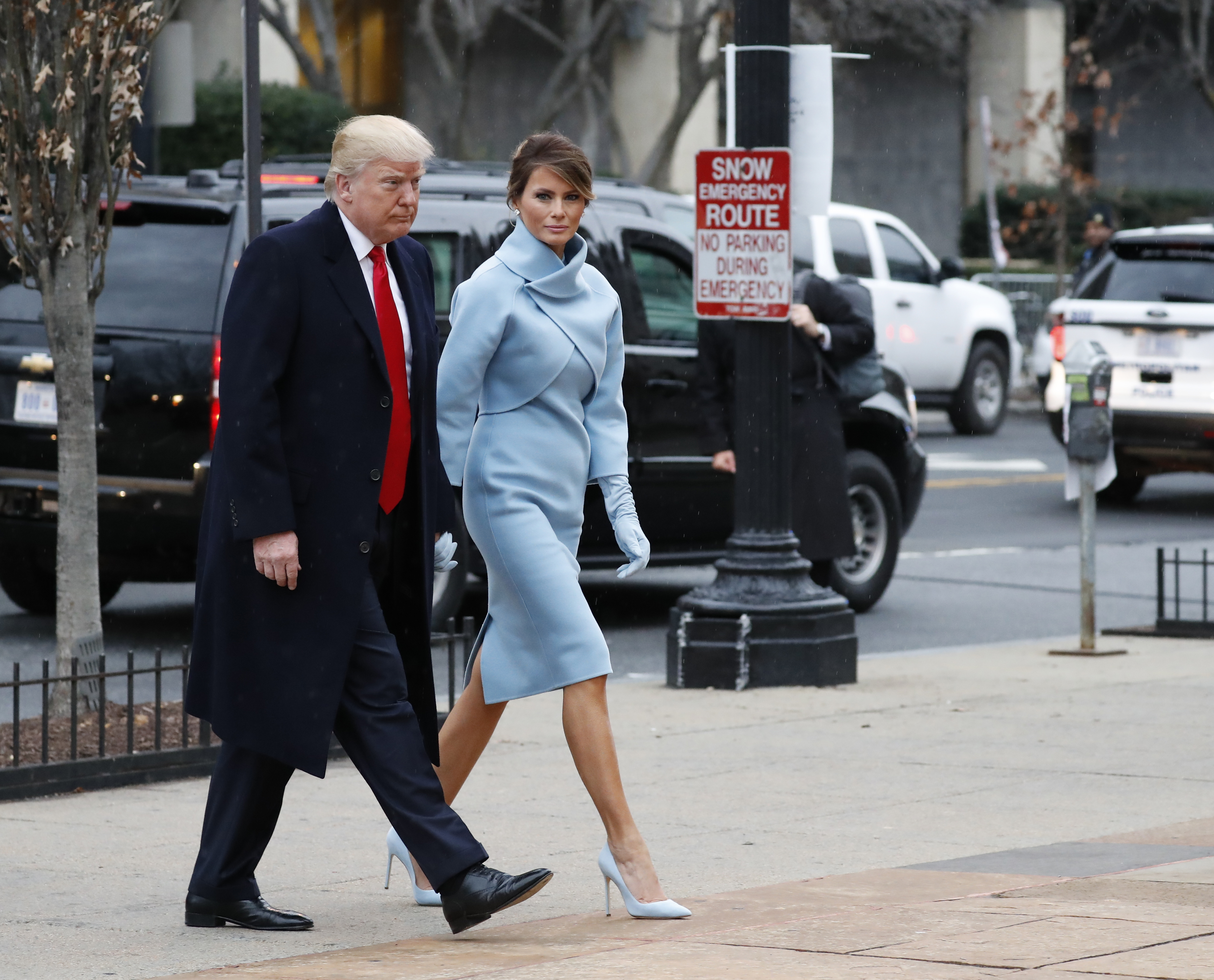 Melania Trump turns to Ralph Lauren