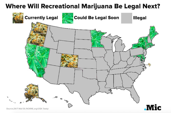 Rhode Island To Legalize Marijuana