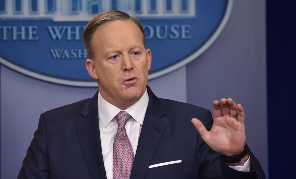 Sean Spicer Vs. NBC Reporter: 'You're Part Of The Confusion'