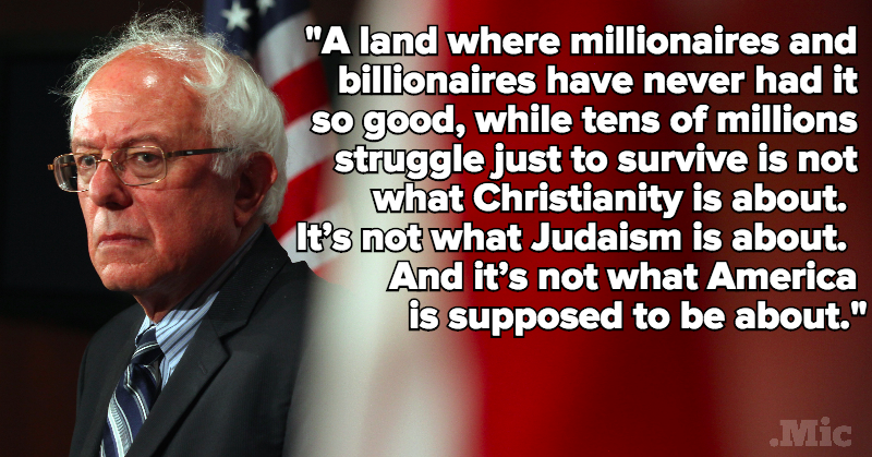 Bernie Sanders Quotes Enchanting 5 Powerful Quotes That Prove Bernie Sanders Is A Damn Good