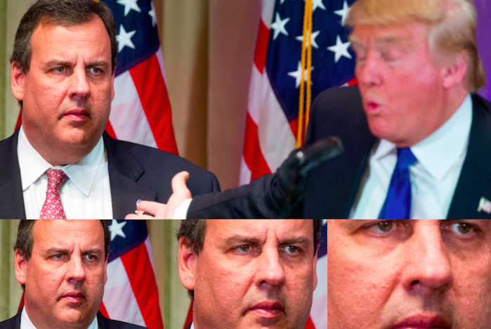 Free Chris Christie: governor's shell-shocked look mocked on Twitter