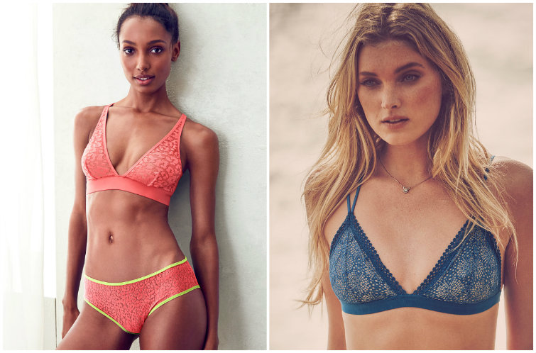 The Hidden Message of Victoria's Secret's New Unpadded Bras? Small Breasts Are Better.