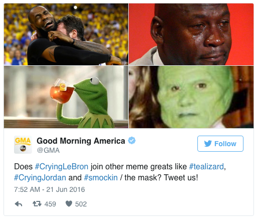 #TeaLizard Is Now a Thing — Or So Says 'Good Morning America'