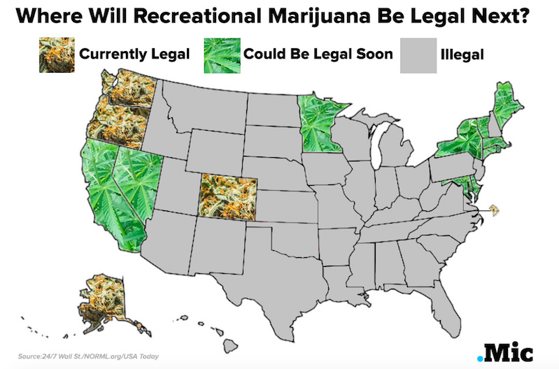 why america needs to legalize marijuana Weed is our friend: 4 reasons why legalizing marijuana could solve some of america's biggest problems if legalization is your state's ballot this year, make you vote count desirae hoover.