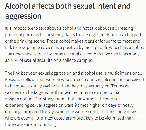 "Stanford's student affairs page on ""female bodies and alcohol"" is a victim-blaming mess"