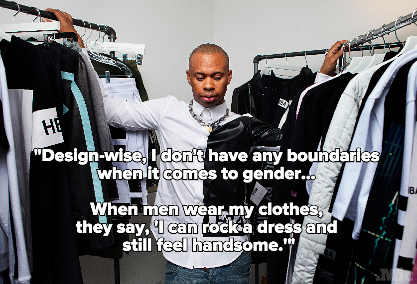 In One Quote, Designer Shayne Oliver  Sums Up Why the Future of Fashion Is Gender-Free