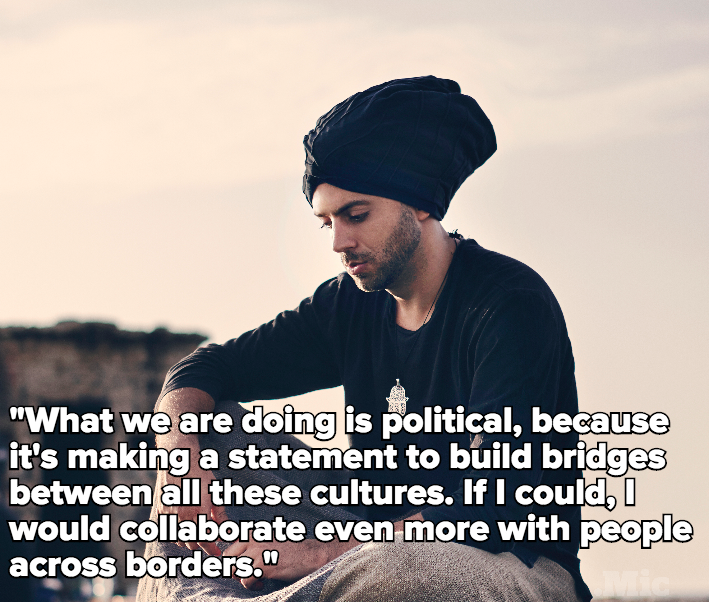 "Idan Raichel Speaks on Music's Power to Unite: ""What We're Doing Is Political"""