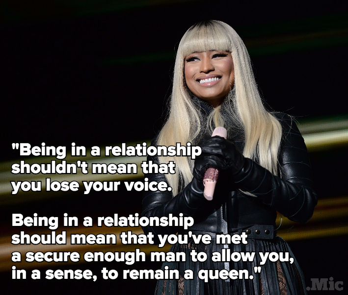 Nicki Minaj Quotes About Relationships: Excuse Us While We Print These Nicki Minaj Quotes And Send