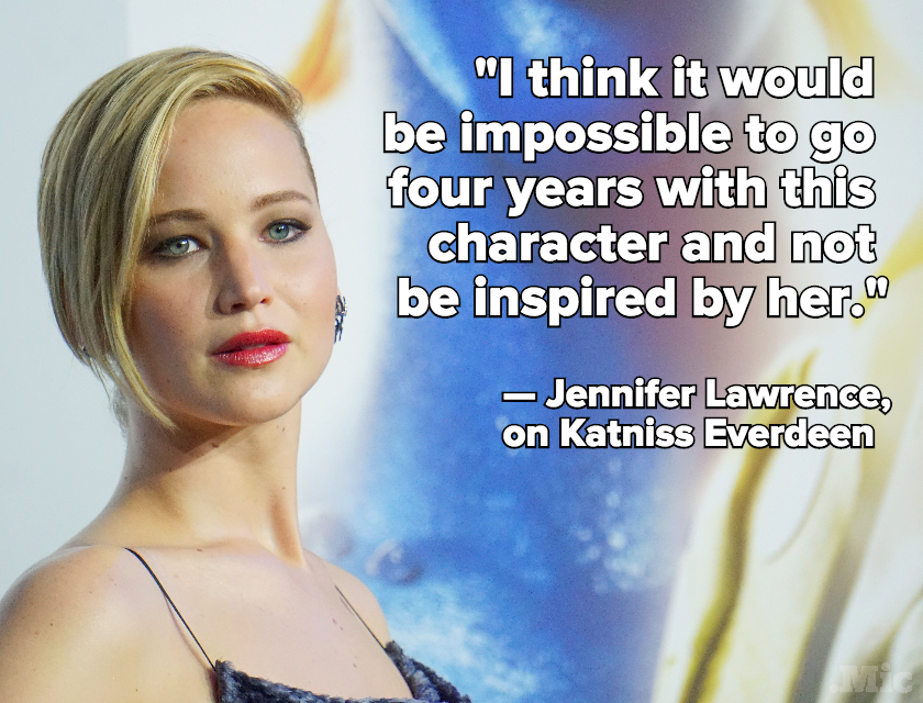 Jennifer Lawrence Says Katniss Everdeen Inspired Her to Stand Up for Equal Pay