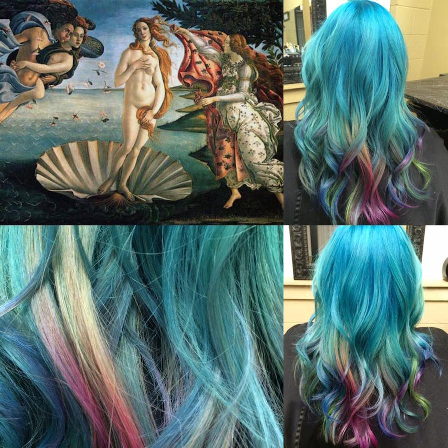 This Hairstylist Is Recreating Classic Works of Art With Her Hair