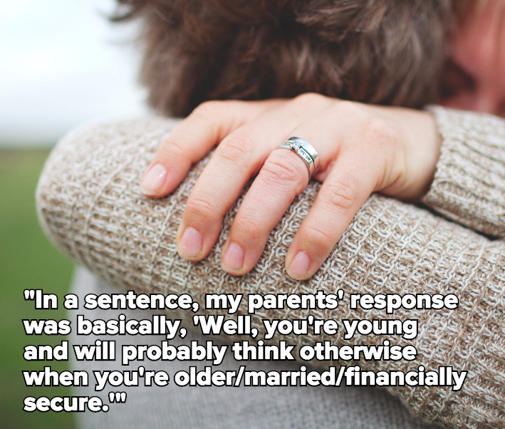 Here's What It's Really Like to Tell Your Parents That You Don't Want Kids