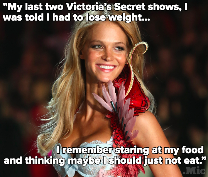 "Victoria's Secret Angel Erin Heatherton on Why She Quit: ""I Was Told I Had to Lose Weight"""
