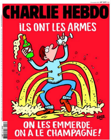 'Charlie Hebdo' Front Page Makes Statement in Wake of Paris Terror Attacks