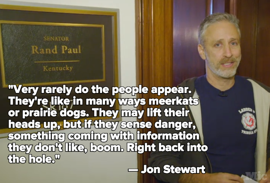 Jon Stewart Just Took Over 'The Daily Show' on Behalf of 9/11 First Responders