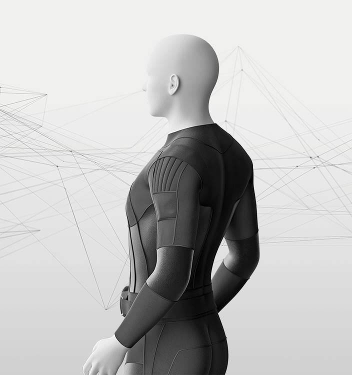 This Virtual Reality Suit Simulates Touch — And Lets You Feel Hugs From Miles Away