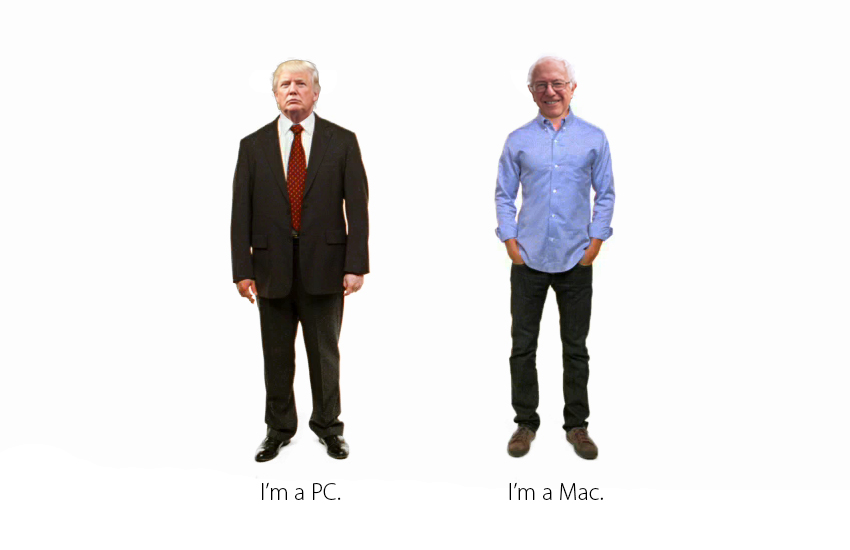 Mac Users Love Bernie Sanders, While Trump Fans Are Most Likely to Have an AOL Email