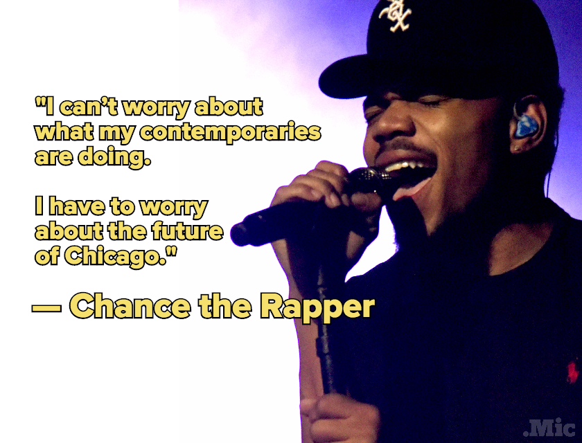 How Chance the Rapper Went From High School Fuckup to One of Chicago's Elite Artists
