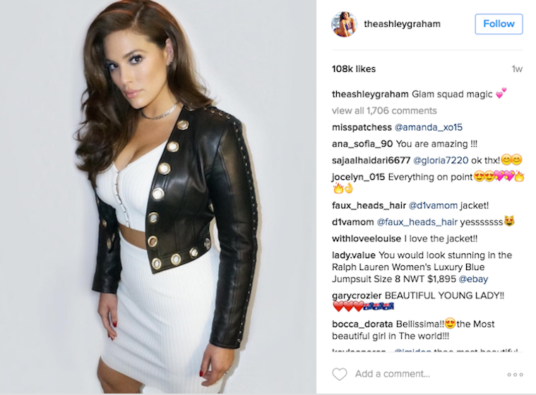 Ashley Graham Pens Powerful Letter Explaining Why She Is Reclaiming Ownership of Her Body