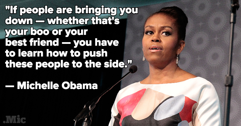 Michelle Obama Just Gave 1,000 Schoolgirls Incredible Life Advice