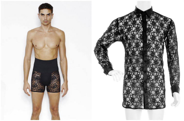 At Long Last, Lingerie For Men Now Exists. So Take That, Victoria's Secret.