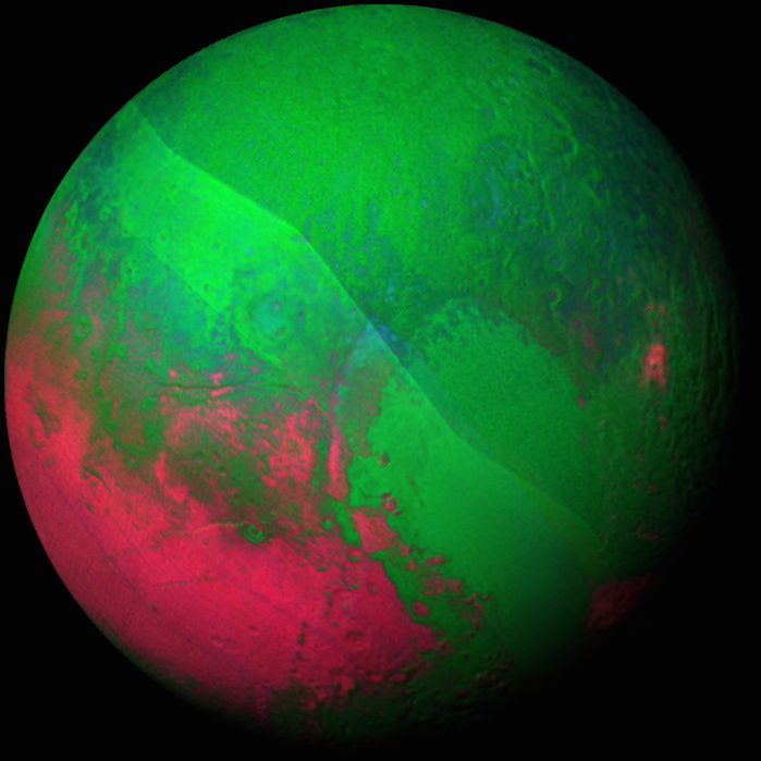 NASA News: Here's a Photo of Christmas Pluto, and More Holidays Greetings From Space