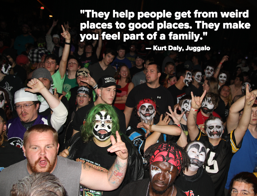 Insane Clown Posse's Juggalos Insist They're No Gang, but They Need to Prove It to the FBI