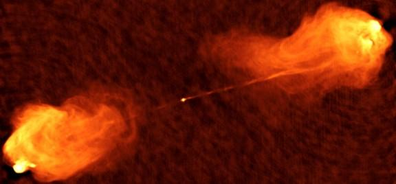 Scientists Just Got a Close-Up Look at Supermassive Black Hole Jets