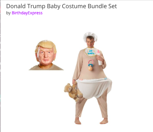 Donald Trump Halloween costumes are as scary as the real thing