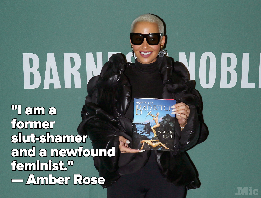 "Amber Rose Said She's A ""Former Slut-Shamer And a Newfound Feminist"""