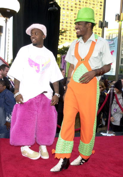 Sorry, Lady Gaga. OutKast are the real unsung style heroes of the MTV VMA red carpet.