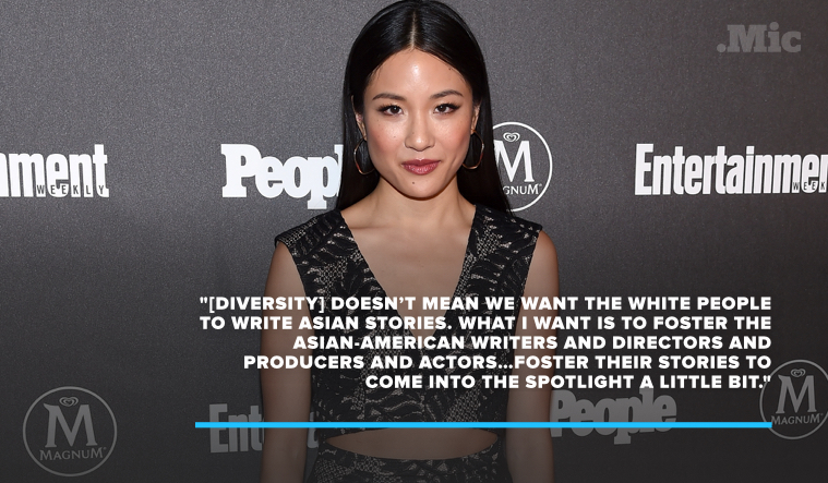 7 Times Constance Wu Called Out Hollywood's Diversity Problem