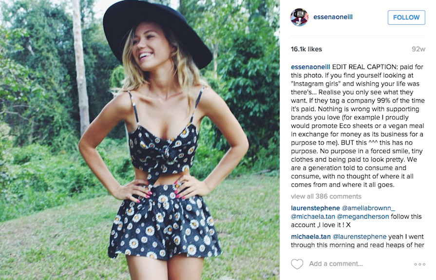 This Beauty Blogger Just Got Real About What We See On Instagram