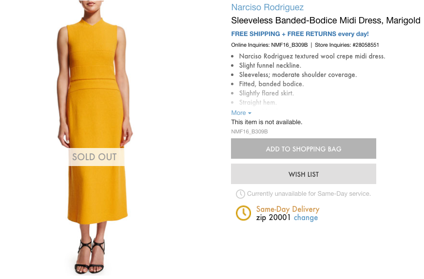 Michelle Obama's SOTU Dress Sold Out in Minutes — But Only After People Debated the Color