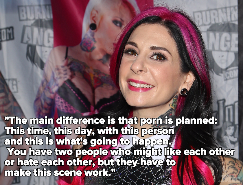 What Porn Stars Want You to Know About the Difference Between Porn Sex and Real Sex