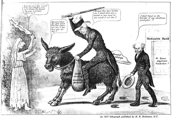 The curious reason why a donkey came to symbolize the Democratic Party