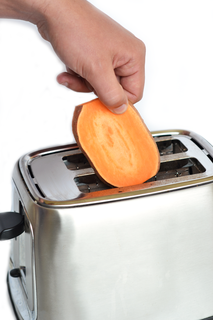 Put Slices of Sweet Potato Into Your Toaster and Witness Something Truly Magical