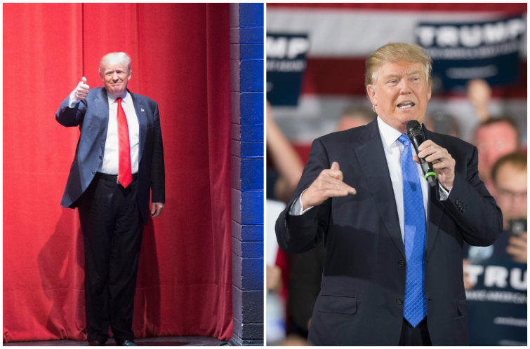 Something Bernie and Trump Have in Common? Neither Know How to Wear a Goddam Suit