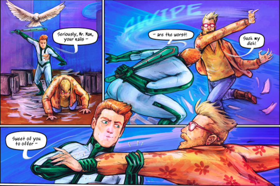 The Comic World Just Got Its First Gay Mormon Superhero