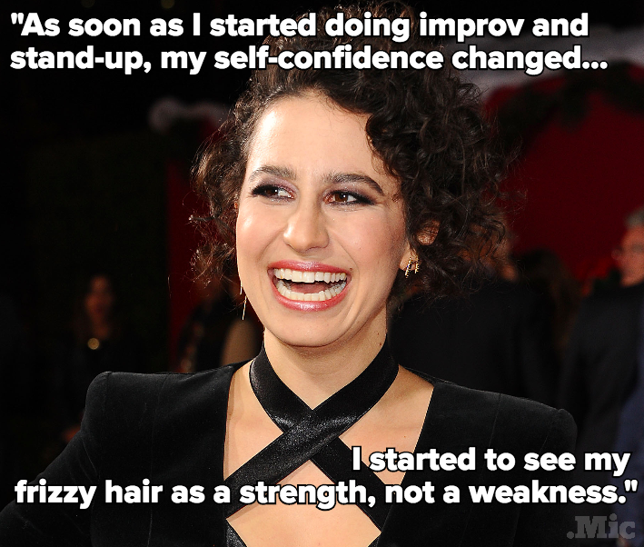 "Ilana Glazer From 'Broad City' Didn't Always Love Her ""Fluffy, Cotton-Candy Curls"""