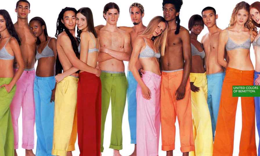 Benetton's New Face-Blend Ads Might Just Miss the Point of Diversity