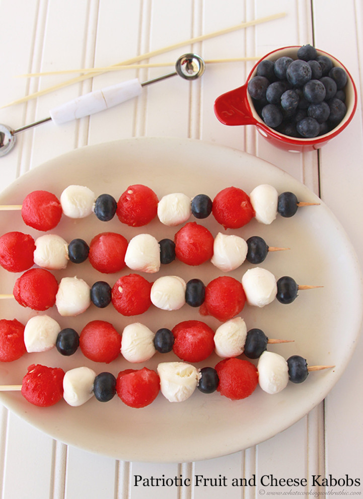 9 Patriotic July 4th Recipes That Take 10 Minutes or Less