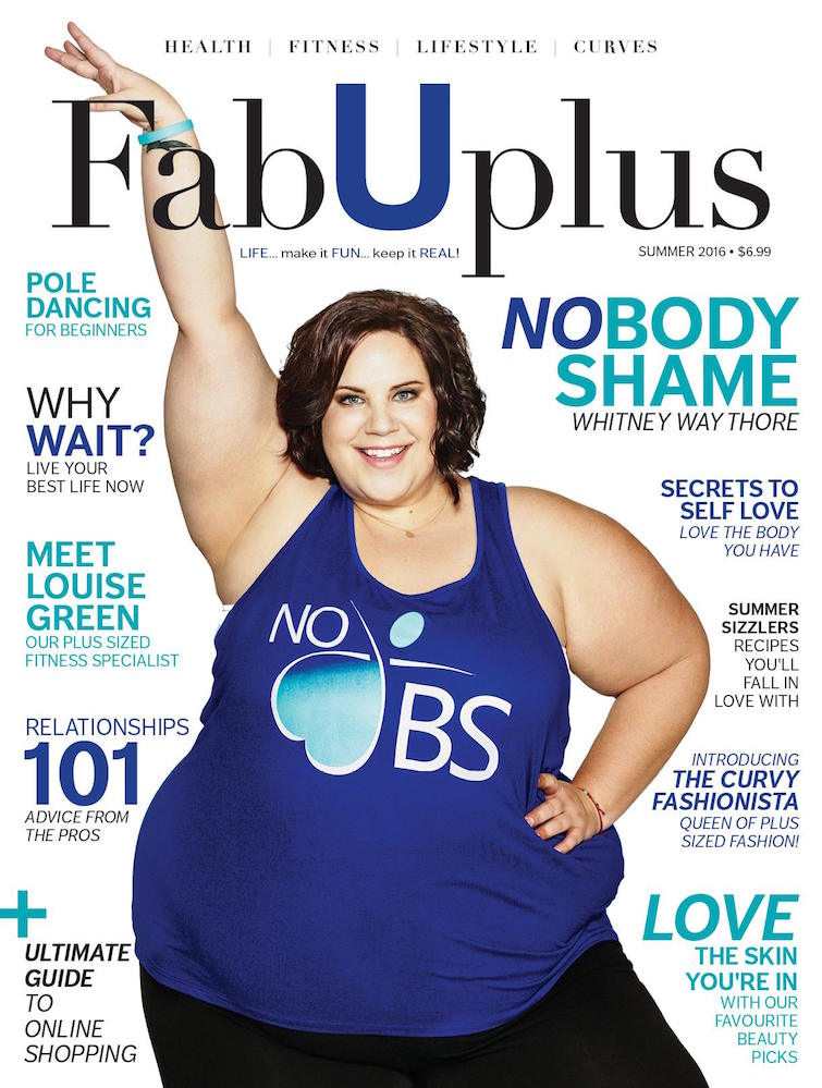 When It Comes To Plus-Size Women and Fitness Magazines ...