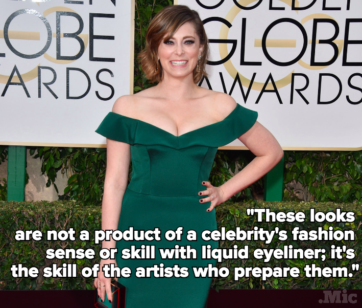 "Rachel Bloom Claps Back at Fashion Blog Who Called Her Red Carpet Dress ""Boca Retiree"""