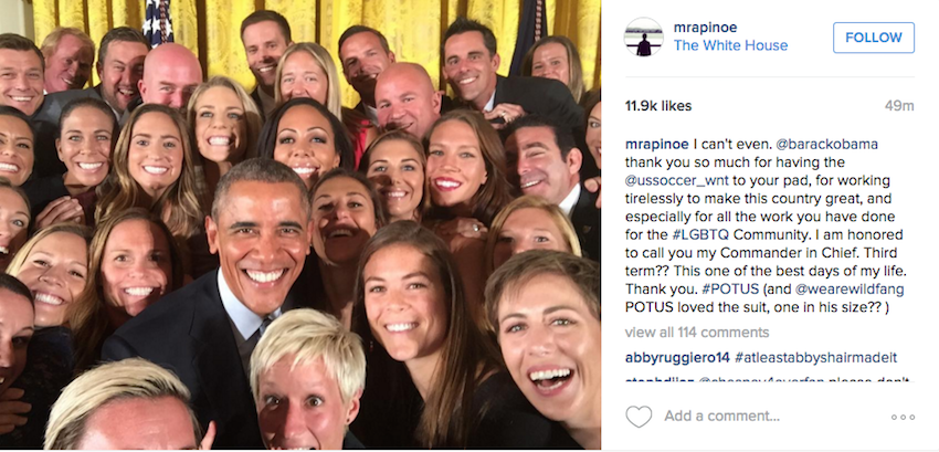 "President Obama Confirms Playing Soccer Like a Girl Is ""Badass"""
