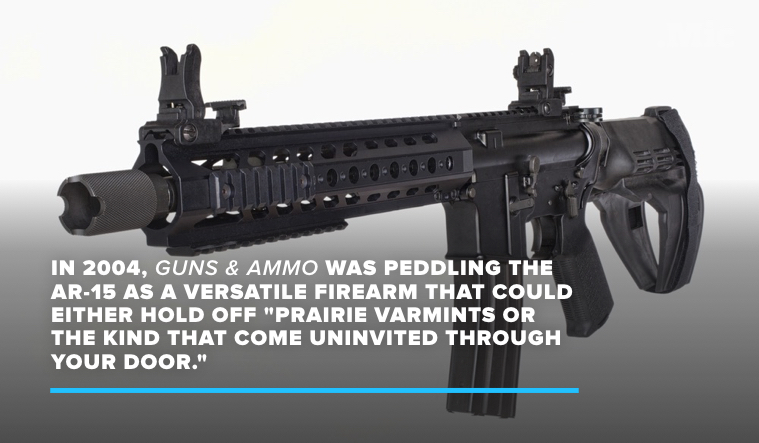A Brief History of the AR-15, the Weapon Behind the Deadliest Shootings in the US