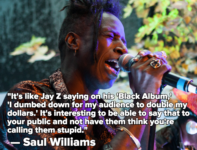 "Saul Williams Talks His New Album and America's Obsession With ""Dumbing Down"" Art"