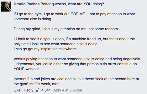 Man Tries Shaming Woman At the Gym; Internet Politely Shuts Him the F*ck Down