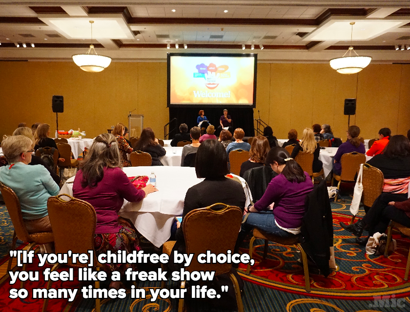 We Went to the Not Mom Summit to See What the Future of (Non)-Motherhood Looks Like
